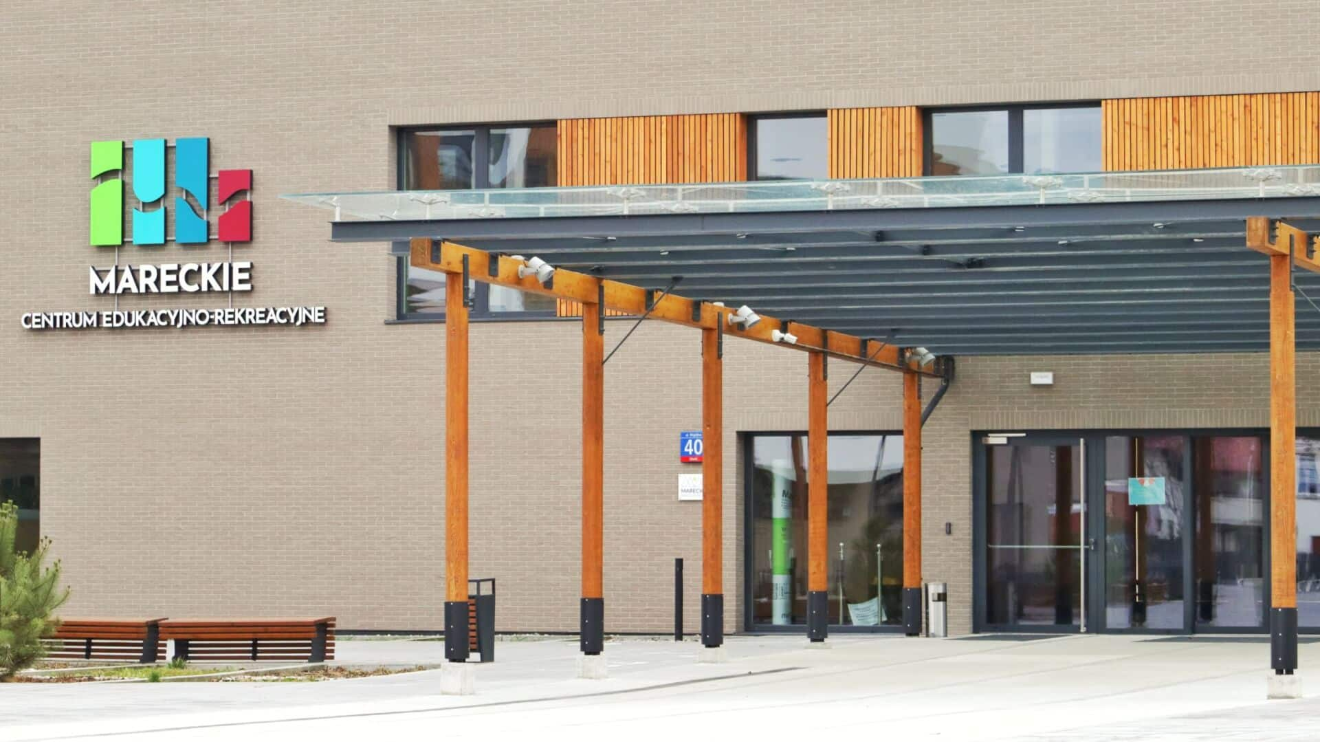 budynek główy i wejście główne MCER