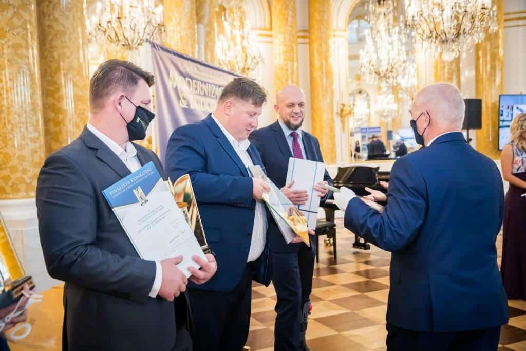nagroda za MCER - RELACJA Z GALI