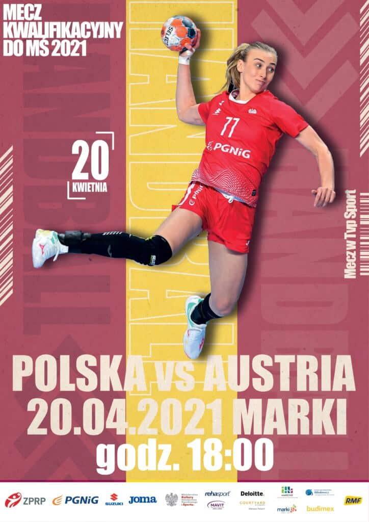 marki plakat meczu eliminacyjnego Polska - Austria